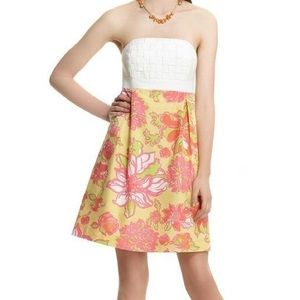 Lilly Pulitzer Betsey Basketweave Dress Starfruit